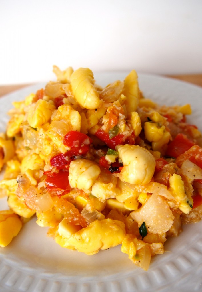 Ackee and saltfish for Salt fish ackee