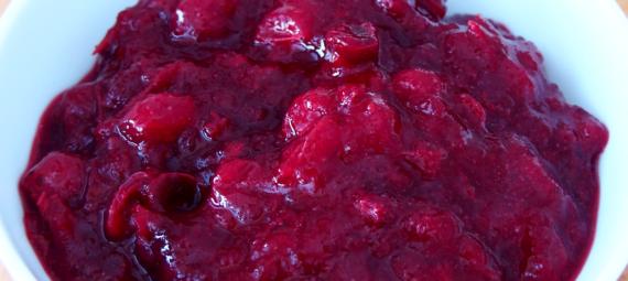 Low Carb Cranberry Sauce