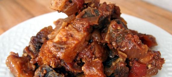 deep fried pork belly