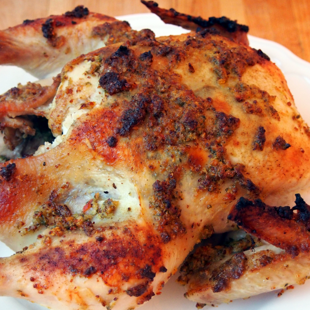 roast chicken cooking instructions