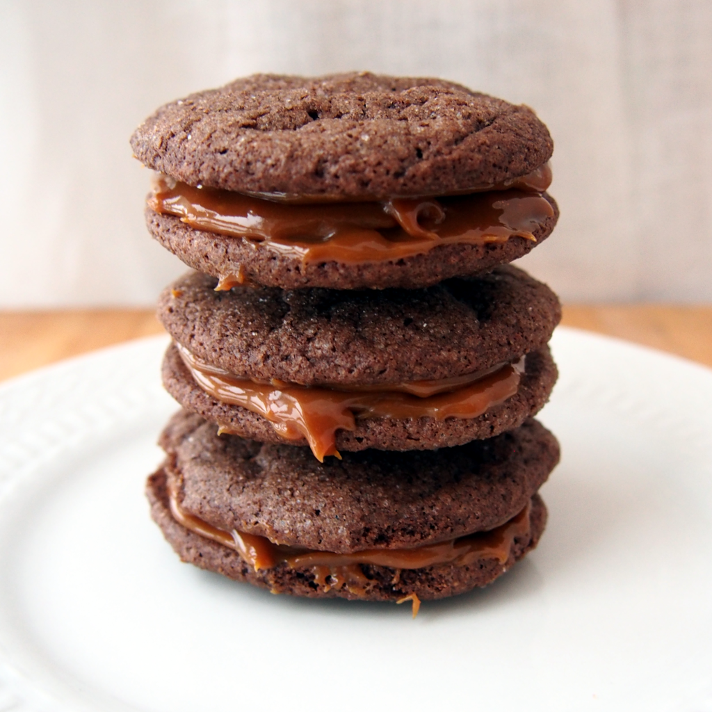 Dulce de Leche Filled Cookies
