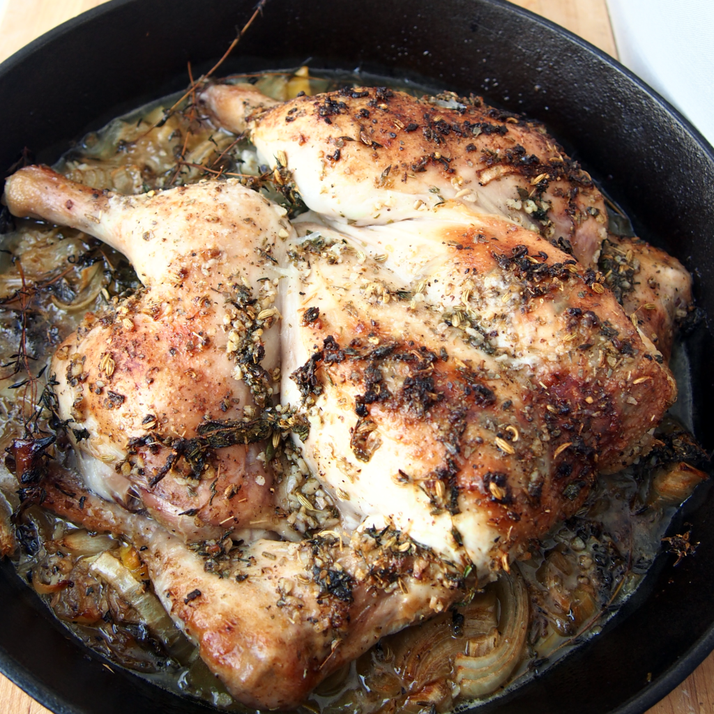 Pan Roasted Lemon Chicken