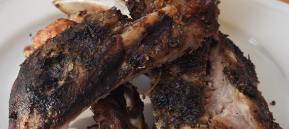 Dry Greek Ribs