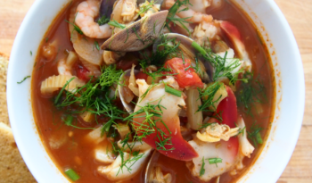 Cioppino - seafood soup