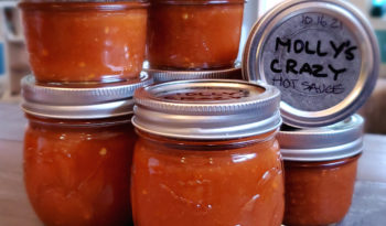 Molly's CRAZY Hot Sriracha Sauce