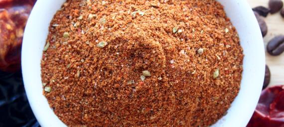 Coffee Chili Rub