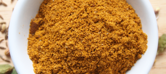 Homemade Yellow Curry Powder