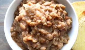 White Navy Beans / Borlotti Beans
