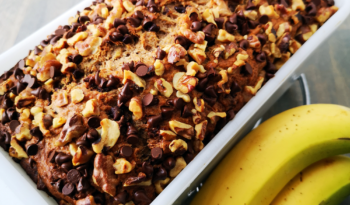 Chocolate and Walnut Banana Bread