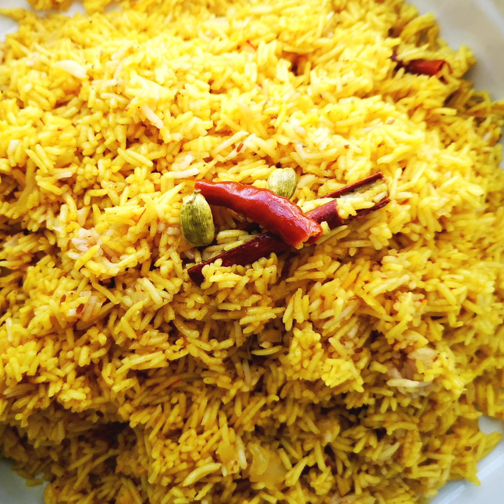 Rice for Lamb or Beef Biryani