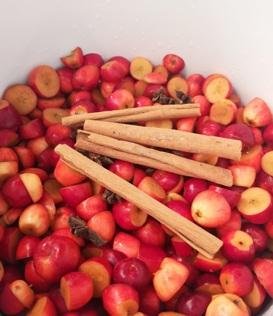 Spiced crabapples