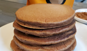 Pancakes with Coffee Flour